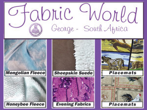 Winter Materials in Stock at Fabric World in George