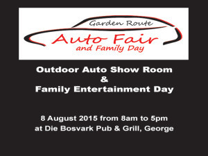 Garden Route Auto Fair and Family Day in George