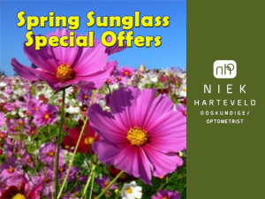 Spring Sunglass Special Offer in Mossel Bay