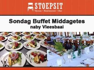 Sondag Buffet Middagetes naby Vleesbaai en Boggomsbaai, Mosselbaai