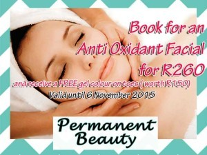Anti Oxidant Facial Special in Hartenbos