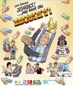 'Schuks! Pay Back the Money' now available for DVD rental in Hartenbos