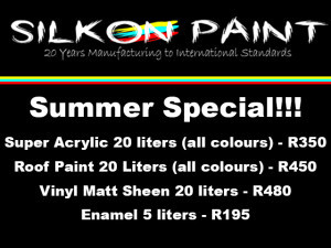 Silkon Paint George Summer Special