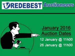 January 2016 Auction Dates in Mossel Bay