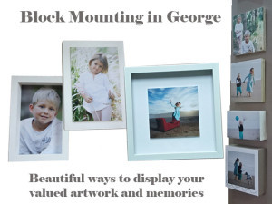 Block Mounting of Photographs in George