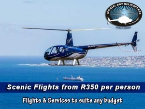 Scenic Helicopter Flights in Mossel Bay