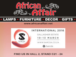African Affair at SARCDA Trade Exhibition March 2016