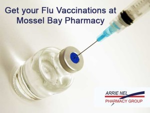 Flu Vaccinations available in Mossel Bay
