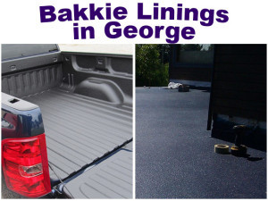 Bakkie Linings in George