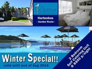 Winter Self Catering Accommodation Special in Hartenbos