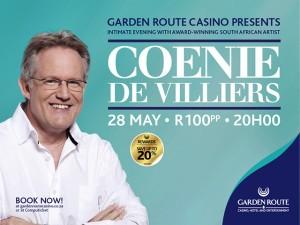 Coenie De Villiers at the Garden Route Casino