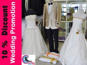 10% Off Bridal Wear and Accessories in Mossel Bay