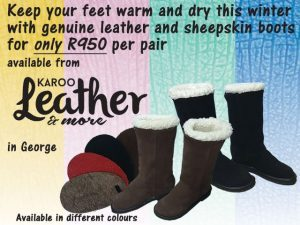 Genuine Leather Boots From Karoo Leather in George