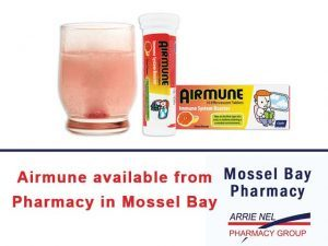 Airmune available from Pharmacy in Mossel Bay