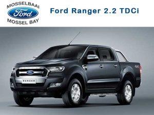 Nuwe toevoeging tot Ford Ranger vloot in Mosselbaai