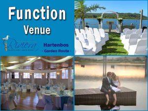 Function Venue in Hartenbos