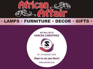 African Affair at SAECDA Christmas 2016 Trade Exhibition
