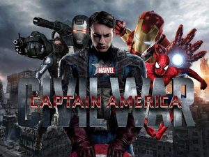Captain America Civil War soon available at Just Movies in Hartenbos