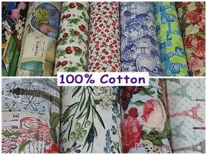 New Range of 100% Cotton Now at Fabric World in George