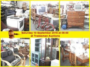 Auction in George on 10 September