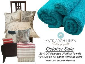 Sale on Towels and Linen in George