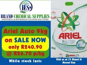 Ariel Automatic Washing Powder on Sale in Mossel Bay