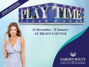 Bravo Lounge Festive Program in Mossel Bay