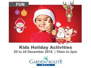 Kids Holiday Activities in George