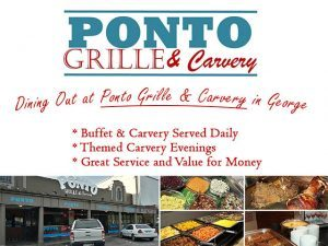 Dining Out at Ponto Grille and Carvery in George