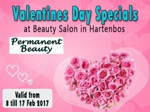 Valentine's Day Beauty Specials in Hartenbos