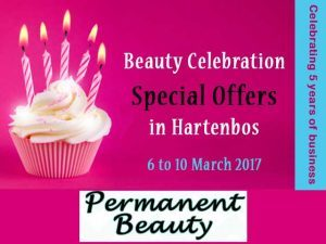 Beauty Celebration Special Offers in Hartenbos