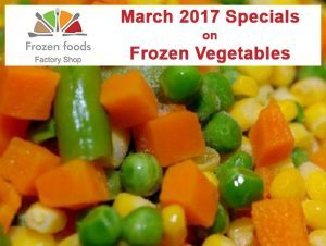 Specials on McCain Frozen Vegetables in George