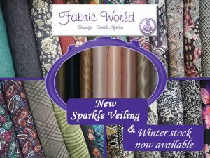 New Winter Fabrics Now Available in George