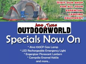 Specials on Camping Equipment in George