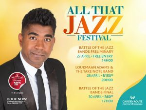 All That Jazz Music Festival 2017 in Mossel Bay