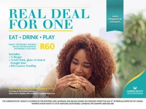 Eat, Drink and Play at the Garden Route Casino
