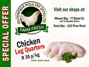 Chicken Leg Quarters Special Offers in Mossel Bay