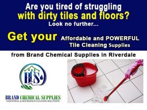 Powerful Cleaning Materials at Brand Chemical Supplies in Riversdale
