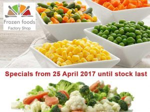 Specials On Frozen Vegetables in George