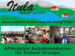 Accommodation for School Groups in George
