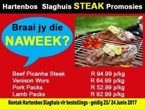 Hartenbos Steak Promosie
