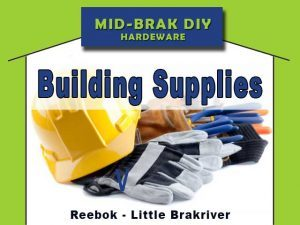 Building & Painting Supplies in Reebok Little Brakriver