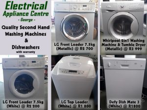Second Hand Washing Machines in George