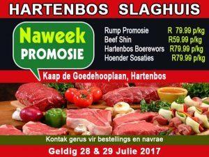 Rump Promosie by Hartenbos Slaghuis