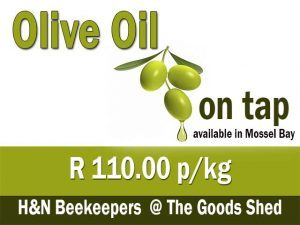 Olive Oil on Tap in Mossel Bay