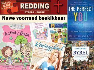 Nuwe voorraad by Redding Boeke en Bybels in Langeberg Mall