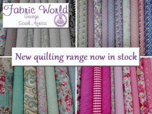 New Quilting Range Now in George