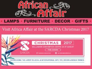 Visit African Affair at SARCDA Christmas 2017 Trade Exhibition