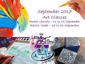 Art Classes in George During September