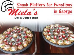 Snack Platters for Functions in George